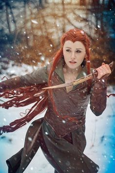 Awesome Tauriel Cosplay! Cosplayer: Naoko Cosplay​ Photographer: Jak Cosplay