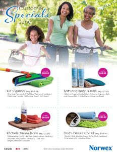 June 2013 Norwex Specials from safercleaning.ca
