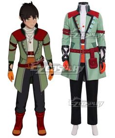 RWBY Yang Xiao Long Cosplay Costume Man Versions mp001067