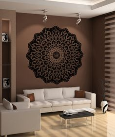 Vinyl Wall Decal Sticker Abstract Circle Design OSAA326s sur Etsy, $63.44 CAD