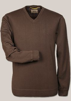 CAMEL Active Pullover Langarm Baumwolle taupe
