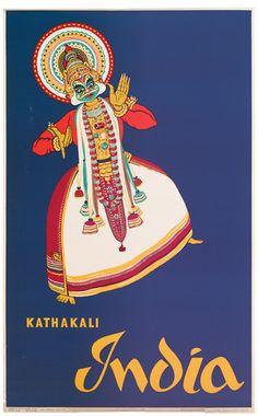 India - Kathakali - 1958 -