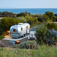 What's it like to haul an Airstream 300 miles up the California coast? Romantic, nail-biting, and yes, cooler than driving a convertible. Get our road rules and route