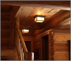 rustic ceiling mount lighting - Google Search