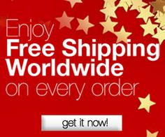 Free Shipping worldwide on every order!