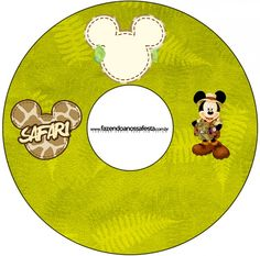 CD DVD Mickey Safari