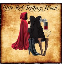 """Little Red Riding Hood Halloween Costume"" by laurenamanda on Polyvore"