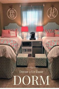 Best Selling Dorm Room! Coordinating dorm room. Match yur roomate.
