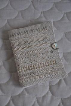 Handstitched drawn thread work vintage style needlebook ~ by myteacupoverflows, £7.80: