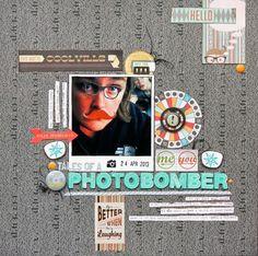 Tales Of A Photo Bomber - May Cocoa Daisy Kit - Scrapbook.com
