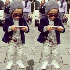 1000+ images about Style de bébé on Pinterest | Baby boy fashion ...