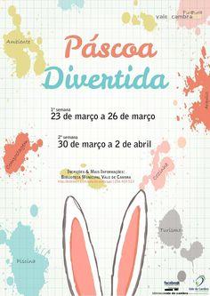 Páscoa Divertida > 23 a 26 Mar | 30 Mar a 2 Abr @ Biblioteca Municipal, Vale de Cambra  #ValeDeCambra