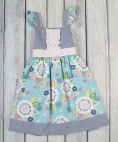 Lilac Boho Summer Eloise Dress - Infant, Toddler & Girls by Stellybelly #zulily #zulilyfinds