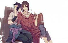 Sasuke, Itachi, dango, Uchiha brothers; Naruto
