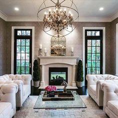 Inspirational formal rooms #realestate #roomgoals #livingrooms