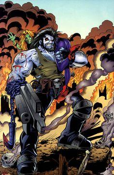Lobo by Mike Wieringo and John Dell