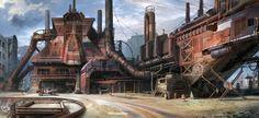 factory by jonone.deviantart.com on @DeviantArt
