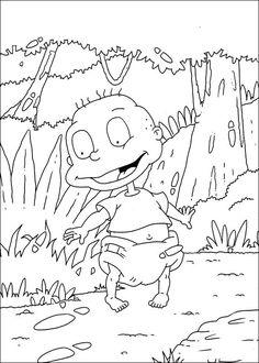 Dibujos para Colorear. Dibujos para Pintar. Dibujos para imprimir y colorear online. Rugrats 65