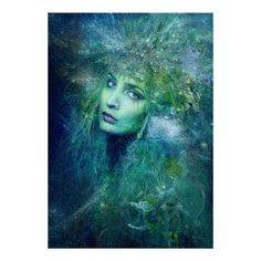 High Priestess of Water poster -- 25% OFF ALL ORDERS