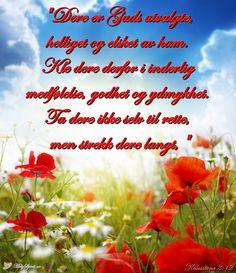 Bibelvers på bilder Dere, Holy Spirit, Bible Verses, Holy Ghost