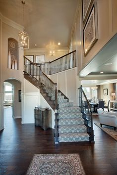 The Preserve at McKay Shores is an outstanding new home community in Broomfield, CO that offers a variety of luxurious home designs in a great location. Dream House Interior, Interior Stairs, Dream Home Design, My Dream Home, House Design, Dream Homes, Home Builders, Future House, Luxury Homes