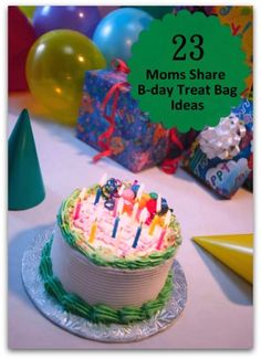 23 Moms Share Birthday Treat Bag Ideas- Insights for mom about what to and not to put in treat bags. #birthdayparty #kids #treatbags