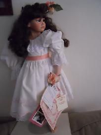 "Lady Anne Dolls Inc Tess w/ cert. Porcelain 28/250 27"" for this and more visit me at www.dandeepop.com"