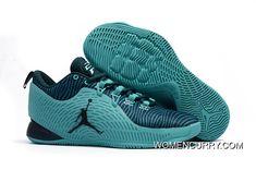 official photos 88974 0cf6d Cheap Air Jordan CP3.X Drak Green Tea Online