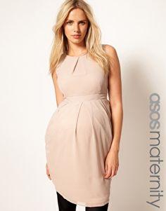 ASOS Maternity   ASOS Maternity Exclusive Tulip Dress at ASOS