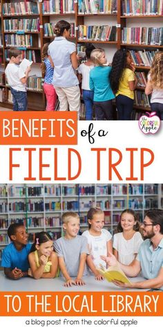 An end of the year field trip to the local library is a great way to help your students read all summer long!