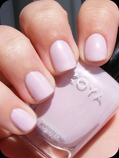 Love this nail polish color :) so cute.