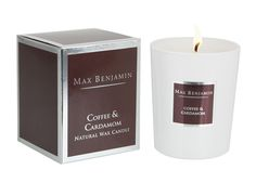 Coffee & Cardamon candle Candles And Candleholders, Candle Jars, Candle Holders, Scented Wax, Scented Candles, Patchouli Candles, Brown Candles, Rose Candle, Fragrance