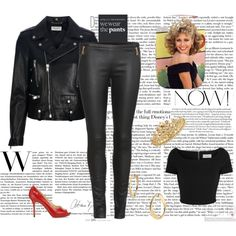 """Grease Contest"" by voltinimiriam on Polyvore"