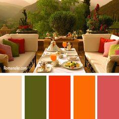 Combinations of Colors, Palette 1 No. 14