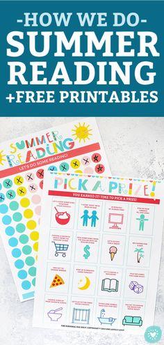 Summer Reading + Free Printables