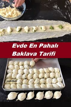 Delicious Desserts, Dessert Recipes, Baklava Recipe, Turkish Recipes, Mousse Dessert, Culinary Arts, Food Preparation, Scones, Deserts
