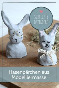 Simple Easter decoration - ideas from modeling clay: Easter can be decorated in a colorful Thrift Store Crafts, Dollar Store Hacks, Dollar Stores, Clay Crafts For Kids, Easter Crafts, Diy Crafts, Easter Table Decorations, Christmas Decorations, Biscuit