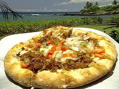 Hawaiian Style Pizza_  Recipe courtesy James Babian, Orchid at Mauna Lani, Hawaii