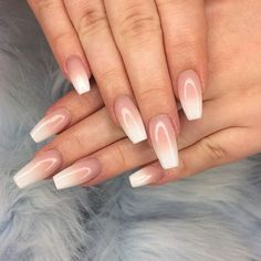 Baby boomers have taken over at NAF! Our salon expert kills it every ti… Baby boomers have taken over at NAF! Our salon expert kills it every time with this sleek coffin shaped acrylic set, you guys can't get enough Best Acrylic Nails, Acrylic Nail Designs, Nail Art Designs, Acrylic Set, Cute Nails, Pretty Nails, My Nails, Graduation Nails, Basic Nails