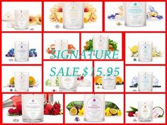 I'm so excited! All signature candles are now on sale for only $15.95!!! http://www.jewelscent.com/candles/signature-collection