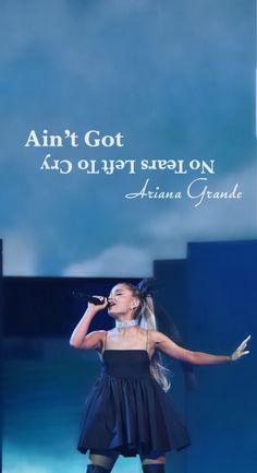 Ariana grande no tears left to cry bbmas wallpaper