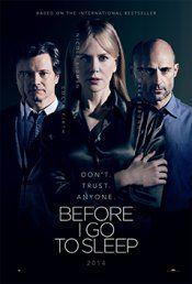 Before I Go to Sleep Movie..............October 31, 2014..........Shocking!     Dramatic!