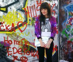 Galaxy Print, Cosmic Girls, Punk, Profile, Trends, Blog, Style, Fashion, User Profile