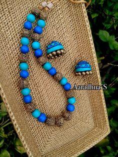 #terracottajewelry #terracottanecklace #handmade #ecofriendly #handmade #clayjewelry #beads #southjewelry #beadjewelry