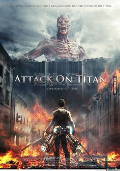 Shingeki no Kyojin/ Attack on Titan Live Action Film! I mean come on, Eren looks too tall and muscular. Armin, Mikasa, Levi X Eren, Levi Ackerman, Manga Anime, Fanarts Anime, Attack On Titan Funny, Attack On Titan Anime, Attack On Titan Trailer