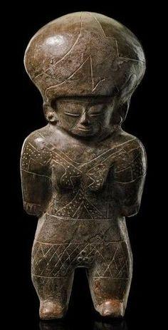 ECUADOR CULTURA CHORRERA 500 A.C.
