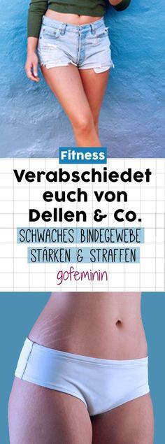Obwohl wir es besser wüssten: Dehnungsstreifen und Cellulite-Dellen nerven uns … Although we would know better: stretch marks and cellulite dents annoy us anyway animal. That helps against it … Causes Of Cellulite, Cellulite Exercises, Cellulite Cream, Cellulite Remedies, Reduce Cellulite, Anti Cellulite, Cellulite Workout, Fitness Workouts, Fitness Motivation