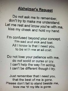 I love this! Heaven forbid it happens to me, but if it does, could you please send this to my husband! Can't stop crying!!