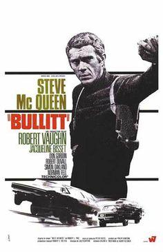 Steve McQueen.  Bullit. 1968