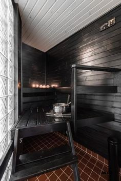Check out the website press the grey link for extra choices ~ corner infrared sauna Sauna Shower, Indoor Sauna, Sauna Design, Finnish Sauna, Sauna Room, Spa Rooms, Infrared Sauna, Saunas, Home Spa